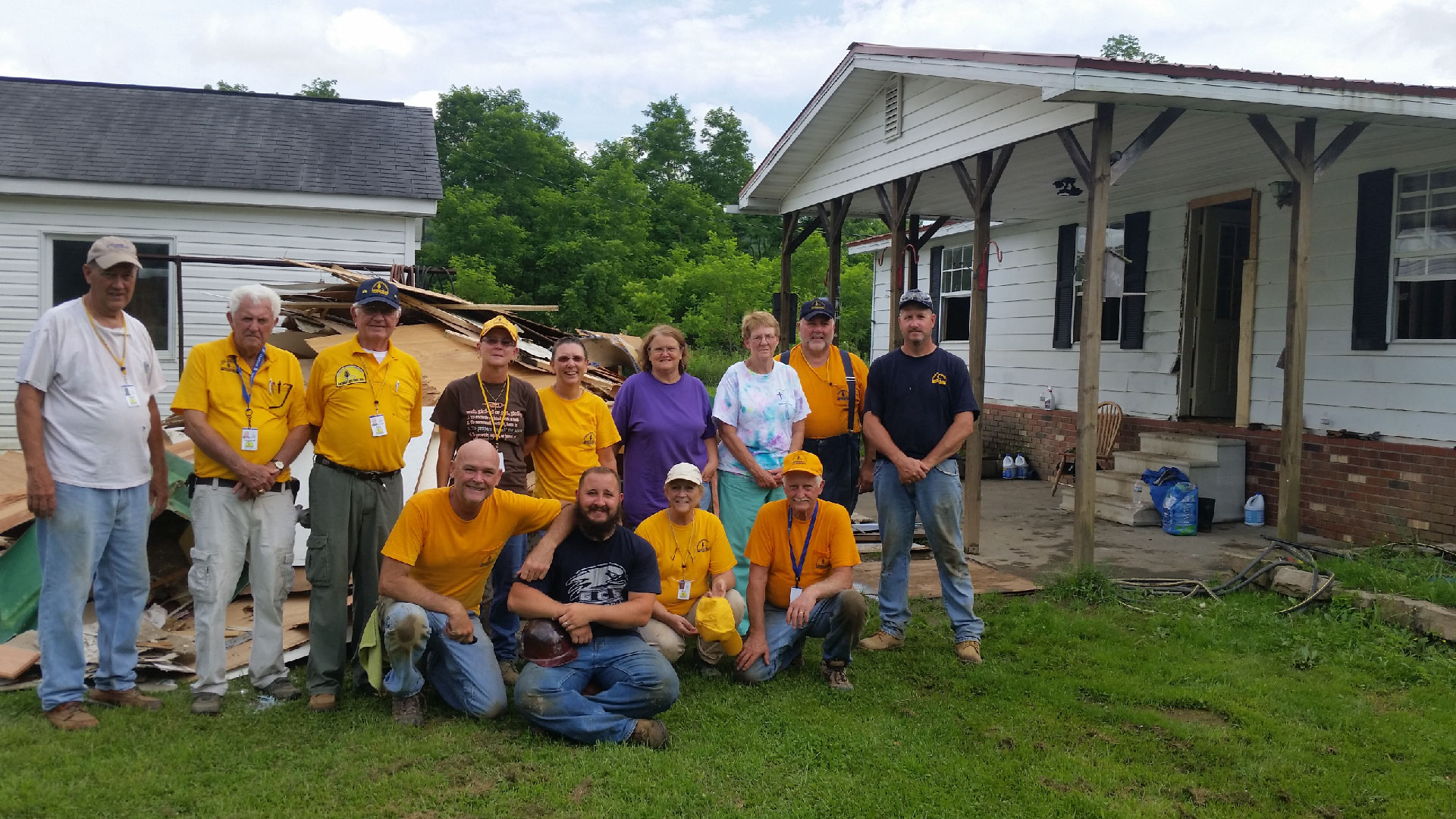 The Brookwood Church Disaster relief team helping restore balance after a time of crisis.
